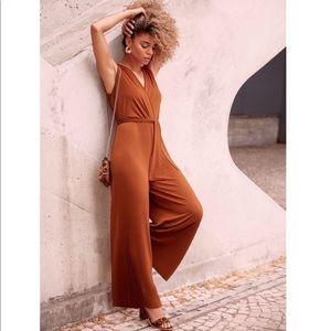 Pants - 🎉🌸Hp🌸🎉Burnt Orange  Sleeveless  jumpsuit